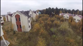 Drone Captures Destitute And Abandoned Russian Village