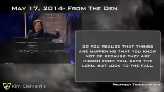 """Kim Clement Extremely powerful message: """"PANDEMONIUM IN THE WHITE HOUSE"""" Prophecy Fulfilled?"""