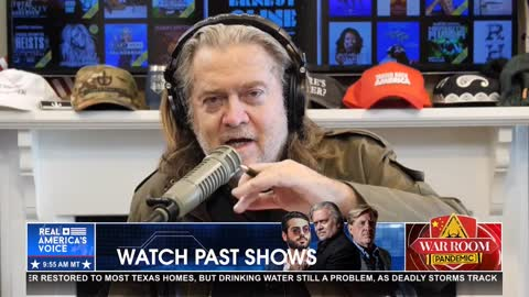 Steve Bannon: President Xi Jinping's biggest single fear is evangelical Christianity