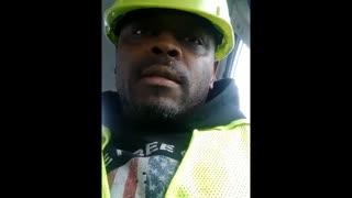 Oil worker not happy after being fired by Biden