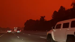 Afternoon Footage of Oregon Wild Fires