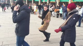 Dancing in Duomo square  - Video