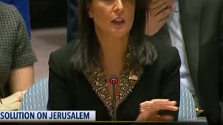 [fb] Nikki Haley Drops the Hammer on UN Over Jerusalem - Video