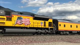 Spirit Of Union Pacific Train  - Video