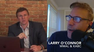 WATCH: JAMES O'KEEFE is suing TWITTER for defamation. He tells all on The Larry O'Connor Show