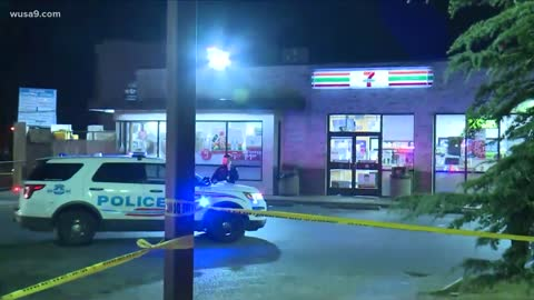 Firefighter shot in DC after responding to help victim of earlier shooting near convenience store