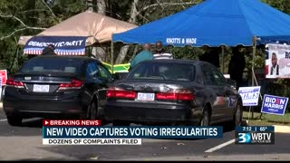 voter coercion and intimidation by husband of democrat candidate