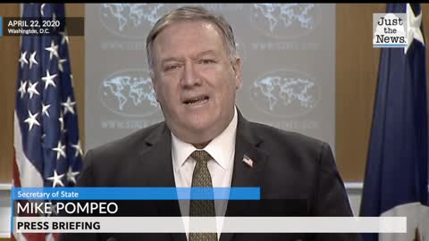 Pompeo calls out China for misreporting coronavirus information
