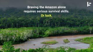 Man Lost in Amazon Survives—Thanks to Monkeys - Video