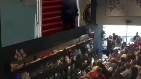 Crowd Goes Wild After Biden makes it up the Stairs!!! 😆🤣😂😅