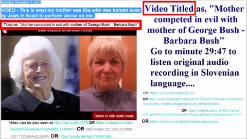 3 of 4  Mother competed in evil with mother of George Bush - Barbara Bush senior_x264