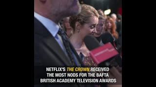 The Crown- Getty Images Celebrity News - Video