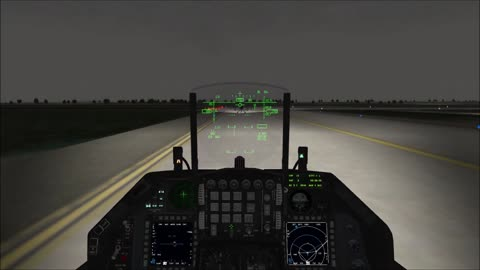 Runway bombing and Escort mission Falcon BMS 4.33