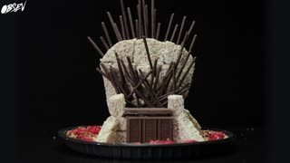 Dessert of Thrones: The Chocolate Throne of Westeros - Video