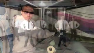 COVID: Russia Drivers Perform Dance While Cleaning Bus