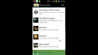 Como ganar miles de satoshis Bitcoin facil con Android - Video