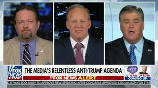 Hannity, Spicer and Gorka rip CNN's Acosta for complaints about Trump rally - Video