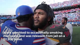 SB Champ Safety T.J. Ward Arrested For Almost 100 Grams Of Weed - Video
