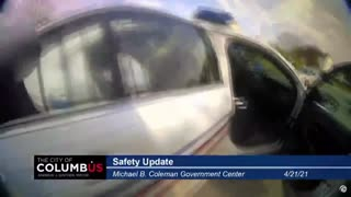 New Body Cam Footage Reveals Reaction From Female Victim Of Columbus Knife Attacker
