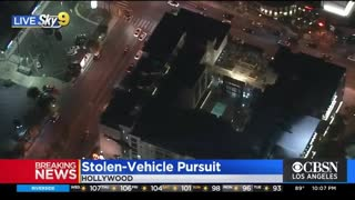 🚨Crazy Driving Stolen Vehicle Police Pursuit of Parolee