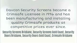 Security Screens Brisbane - Video