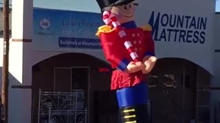 Inappropriate Inflatable Nutcracker - Video