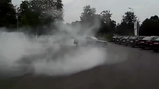 BMW Burnout - Video