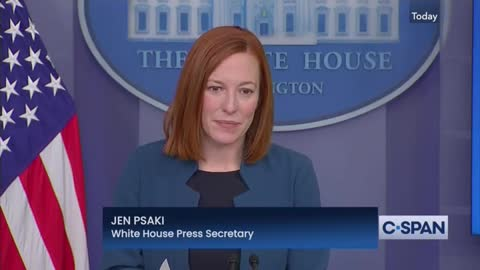 White House Press Secretary Answers Question About Beijing Olympics