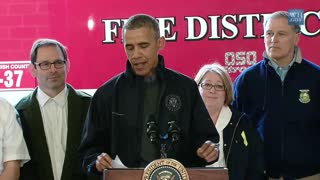 President Obama Speaks on Responding to the Mudslide in Washington State - Video