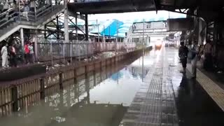 Train Station Water Ride