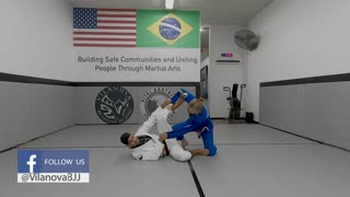 Spider Guard Sweep - Pushing Knee