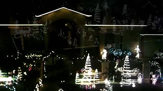 Christmas Lights Drone