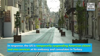 US Embassy warns about potential terrorist threats in Istanbul