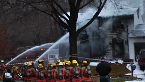 Plane crashes into home in Maryland - Video