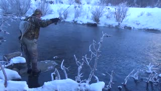 Winter Trout Fishing in Colorado