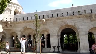 Fisherman's Bastion and Matthias Church in Budapest - Video