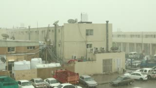 HEAVY RAIN IN ABU DHABI  - Video
