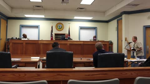 Mar 15, 2021 6pm - Pasquotank County Commissioners Meeting - FULL