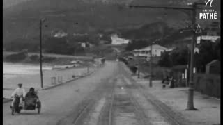 A drive from Simons Town to Cape in the 1920's