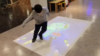 Interaction Projection Games are a great workout!!!