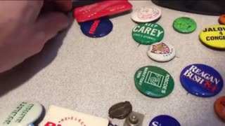 Chicago Political And Other Buttons 1970's -1980's