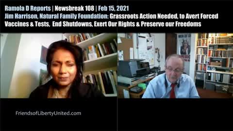 NEWSBREAK GRASSROOTS LOCAL ACTION TO PRESERVE AMERICAN HEALTH FREEDOMS