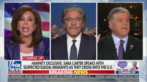 Pirro Vs Geraldo: We Don't Need Illegals, We Need Americans Back To Work!