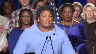 Georgia Democrat Stacey Abrams refuses to concede race - Video