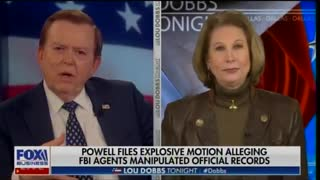 Sidney Powell speaks with Lou Dobbs about new evidence