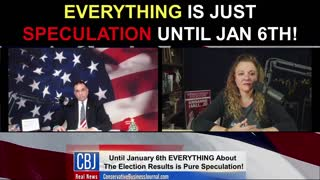 EVERYTHING Is Just Speculation Until January 6!