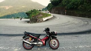Hai Van pass in Viet Nam  - Video