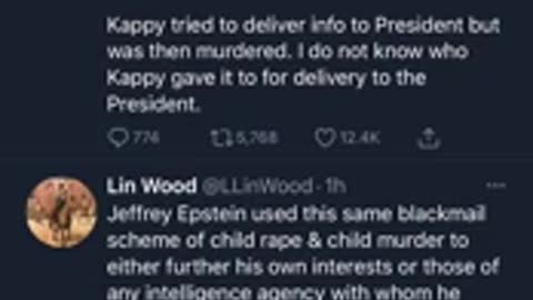 Lawyer Lin Wood DROPS MOABs on Twitter 3am Exposes Pedo Cabal Declass Incoming... KEYS OBTAINED