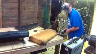 BladeHunter's Jeep Seat repair - Video