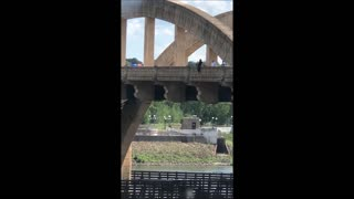 Bridge Jumper Rescue in Minnesota - Video